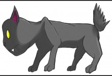 A illustration of a cat